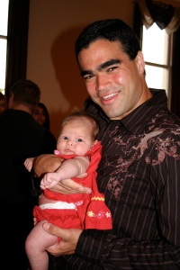 me with tio Kenneth at a wedding! We had so much fun!
